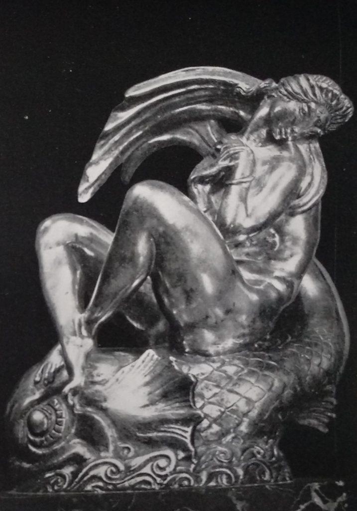 Silvio Canevari Naiade in Bronzo e Argento