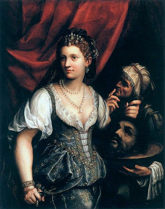 Fede Galizia Giuditta con la testa di Oloferne 1596