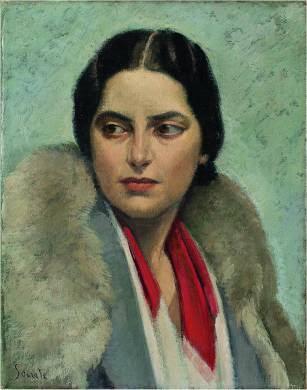 Carlo Socrate Ritratto di Maria Quilici Buzzacchi