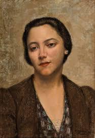 Carlo Socrate Ritratto della moglie di torresini